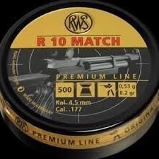 RWS R10 Match 4.50 mm - 500 stuks