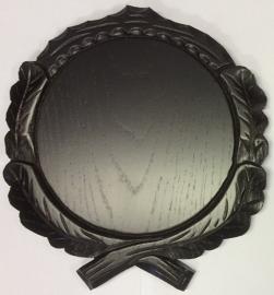 Keiler geweischild Donker; verschillende diameters vanaf € 9,80