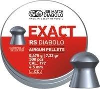 JSB Exact RS Diabolo   4.52 mm /  500 stuks