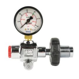 Vulset - manometer met 450mm vulslang 300 bar