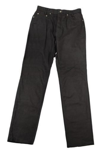 Henson & Henson leren broek 5-pocket jeans
