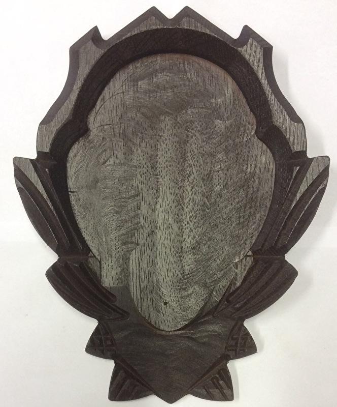 Gems geweischild 16x12 cm - met kaakvak