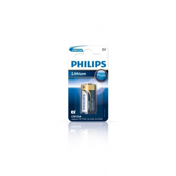 Philips / Duracell / Panasonic CR 123a batterij