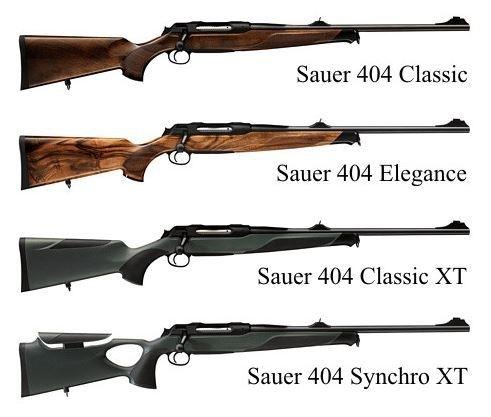 Sauer 404 Classic / Synchro / Elegance