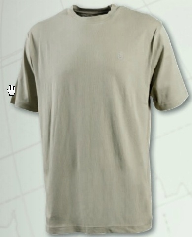 Deerhunter Oakland T -shirt beige; alleen nog in 2XL