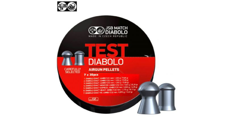JSB Test Diabolo 5.5 mm
