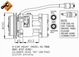 DAF XF 95 Compressor