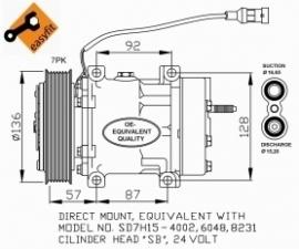 DAF XF 105 Compressor