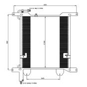DAF XF 95 Condensor