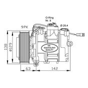 MERCEDES ACTROS Compressor