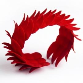3D print SCHUBBEN armband