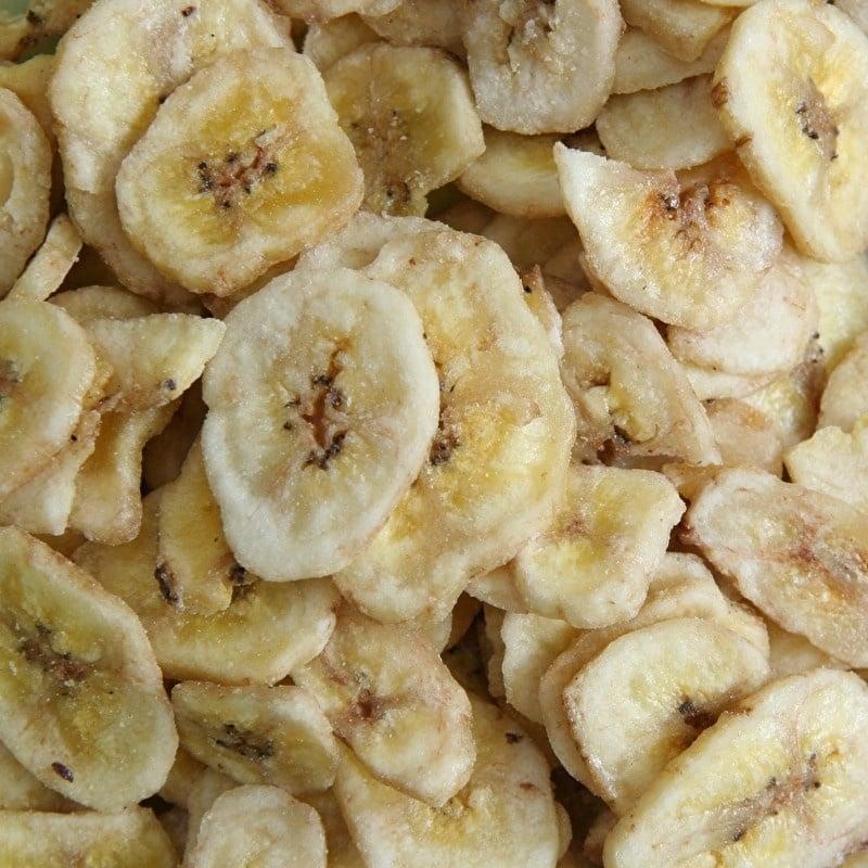 Bananenschijfjes