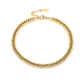 Enkelbandje Chain (2) Goud