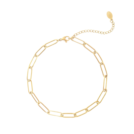 Enkelbandje Chain (1) Goud