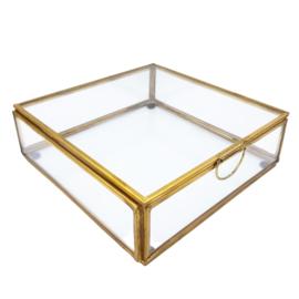 Display glas 16x16 deksel
