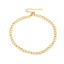 Enkelbandje Chain (3) Goud