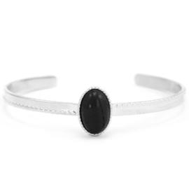 Onyx Silver-black