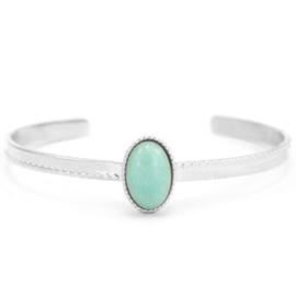 Amazoniet Silver-Turquoise