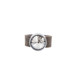 Ring XL Taupe