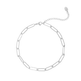 Enkelbandje Chain (1) Zilver