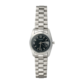 Watch Me Zilver Black