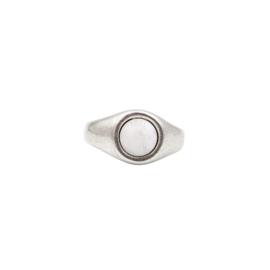Ring Pebble White