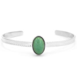 Aventurine Silver-Green