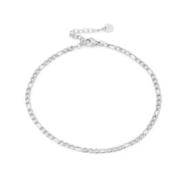 Enkelbandje Chain (4) Zilver