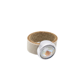 Ring XL SPECIAL SHIMMER Ivory