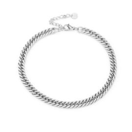 Enkelbandje Chain (2) Zilver