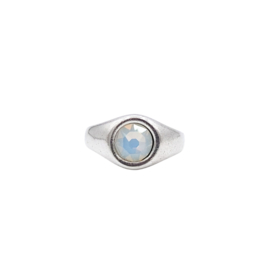 Ring Sparkle Opal White