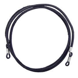 Sunny Cord Leather Black
