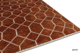 Vloerkleed karpet NL Label  Jade / Laatz  showmodel 208167. nml