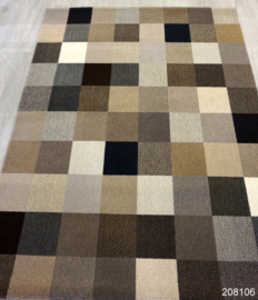 Vloerkleed karpet Brink & Campman Fusion Patch showmodel 208106, nml