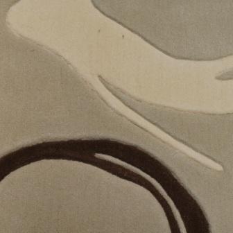 Vloerkleed karpet Brink & Campman Como Rings 208075.