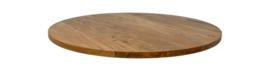 Tafelblad rond 120 cm Acaciahout