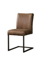 Eetkamer stoel Ferro licht bruin
