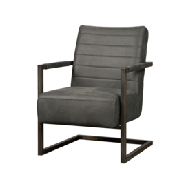 Rocca fauteuil antraciet