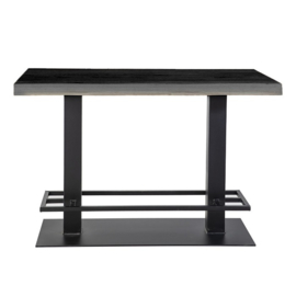 Countertafel 140x80 zwart