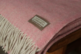 Lombarda plaids roze 130x175 cm