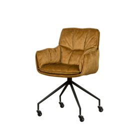 Saronno armchair  yellow