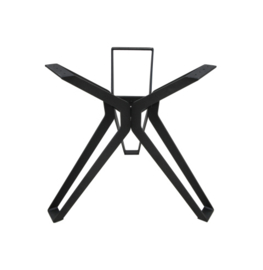 Onderstel Veneto - 3D-Model - gepoedercoat zwart - metaal