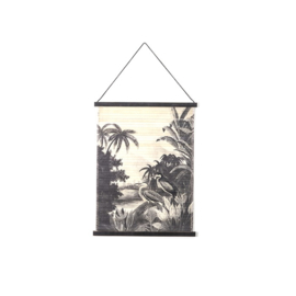 Wanddecoratie Miyagi jungle - small
