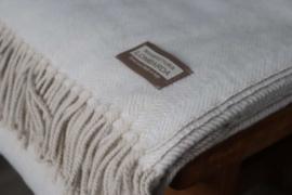 Lombarda plaids  creme       130x175 cm