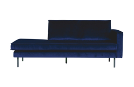 Rodeo daybed right velvet dark blue nightshade