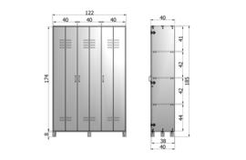 Discover 3 deurs wit
