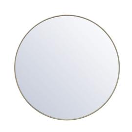 Spiegel Immense rond goud  Ø 120 cm