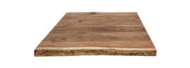 acacia tafelblad 75x75