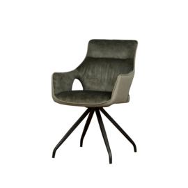 Nola armchair green