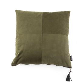 Kussen Faith  45x45 cm - groen
